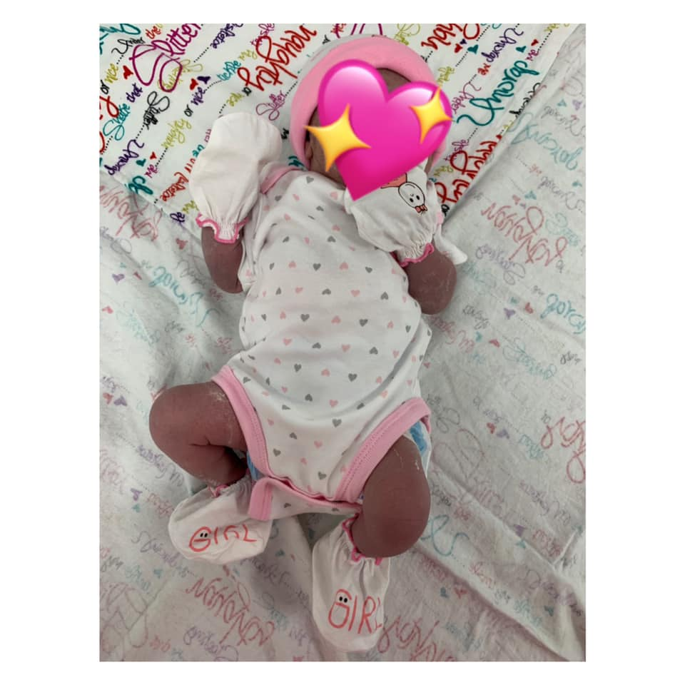 Welcome babygirl !  MMC Baby #23  We present to you Miracle Jay-Lee Queen   Na s…