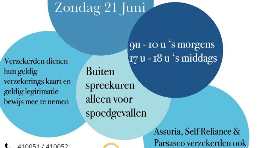 ATTENTION  Op Zaterdag 20 Juni en Zondag 21 Juni zijn wij op de lijst van SZF W…
