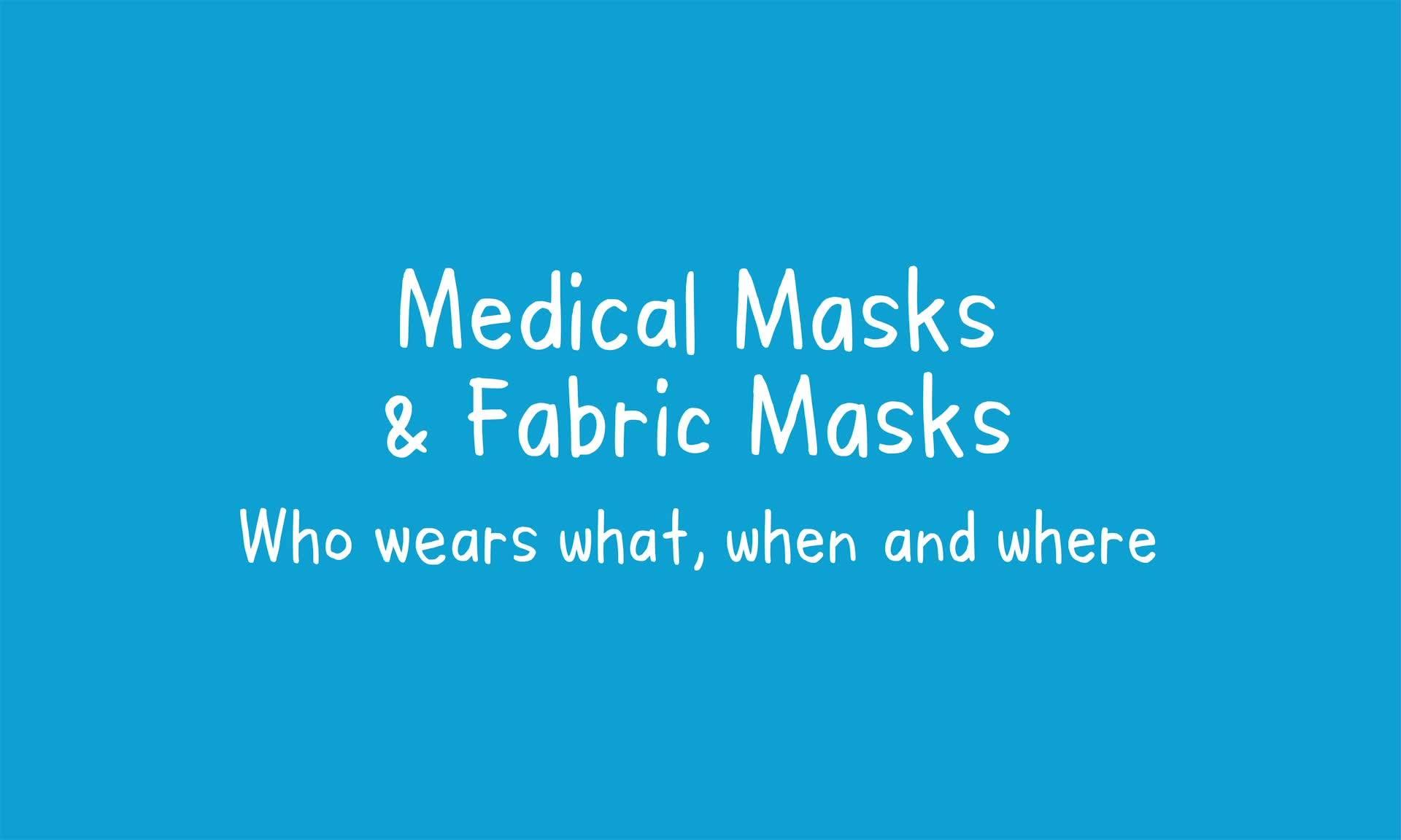 COVID-19 explainer on masks