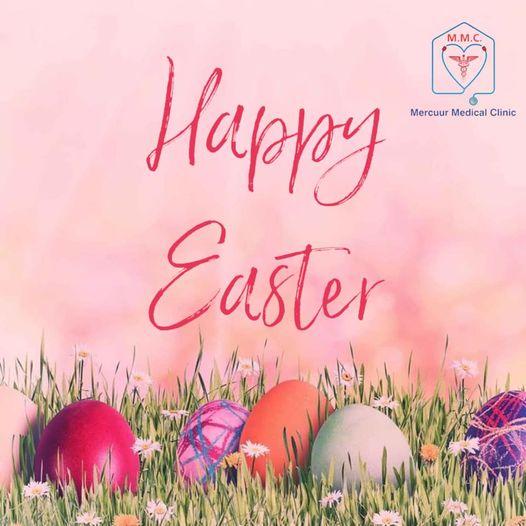 Wij wensen de gehele Surinaamse gemeenschap een Vrolijk Pasen toe